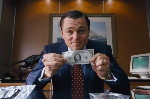 The Wolf of Wall Street: hit theaters on December 25, 2013. Hit DVD on March 25, 2014.
