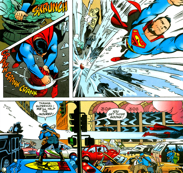 superman being awesome