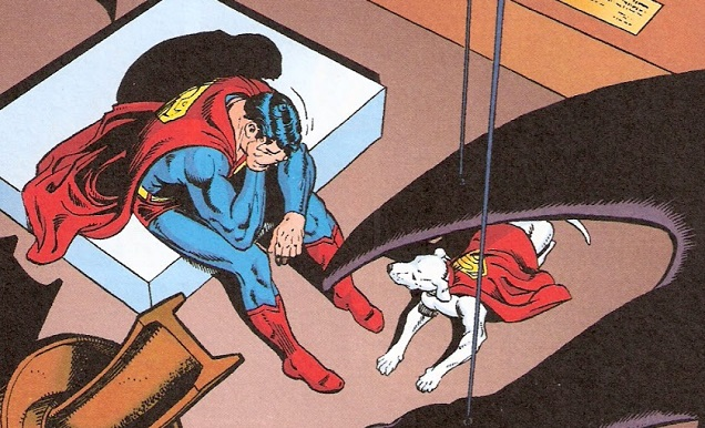 superman depressed